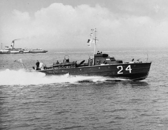 Thornycroft Motor Torpedo Boat MTB 24.
