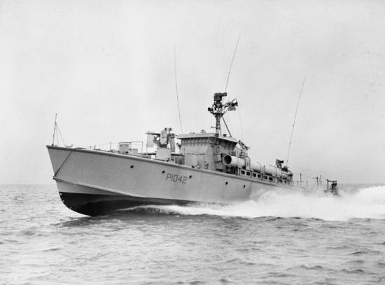HMS Gay Bombardier, P 1042.