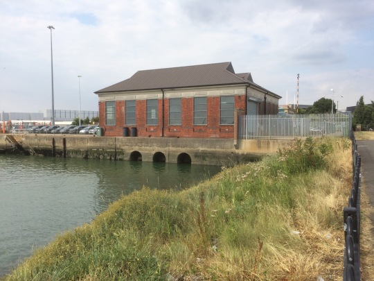 The pump house visible in the background of the header image.